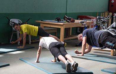 Stage Préparation physique